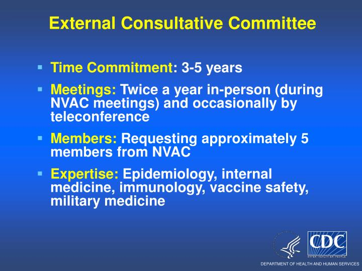 External Consultative Committee