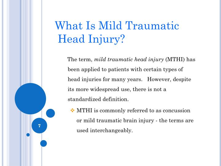 What Is Mild Traumatic
