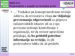 msr 210 dogovarjanje o pogojih za revizijske posle