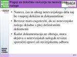 pogoji za dolo itev revizorja na nerevizijske naloge