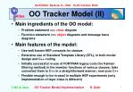 oo tracker model ii