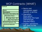 wcf contracts what