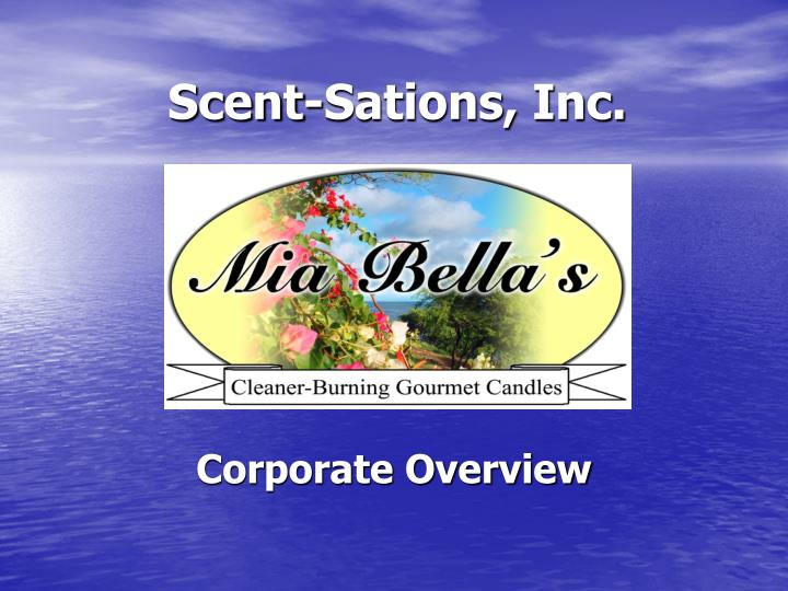 Scent sations inc
