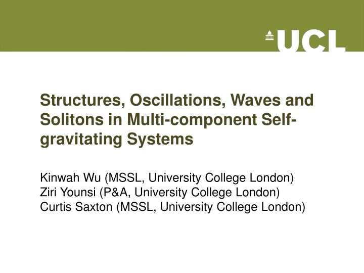 structures oscillations waves and solitons in multi component self gravitating systems