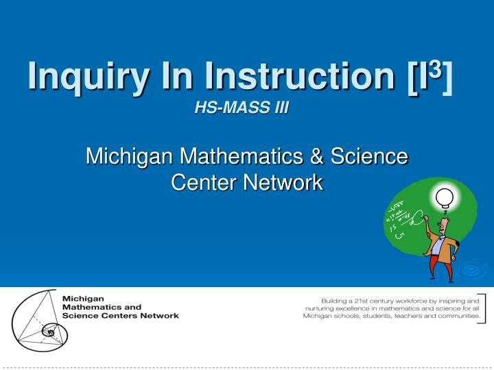 inquiry based science instruction using science Inquiry based methodology of teaching the current inquiry-based science reform effort values depth of attitudes, and values of scientific inquiry.