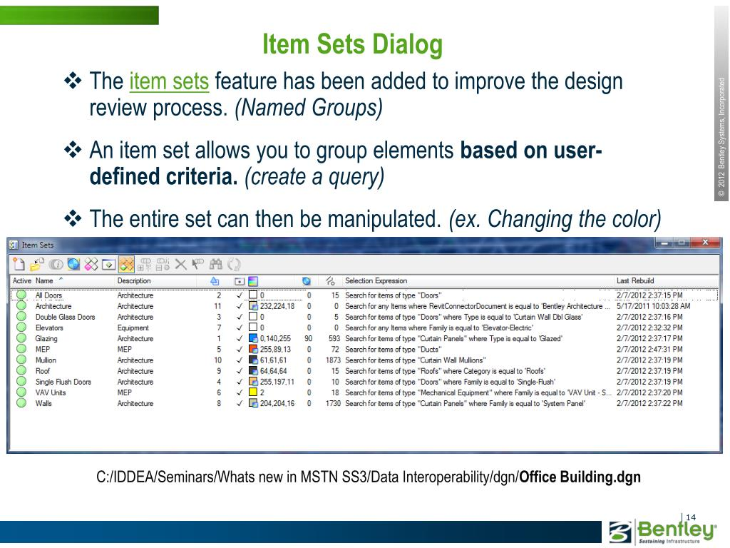 PPT - What's new in MicroStation SELECTseries 3 PowerPoint