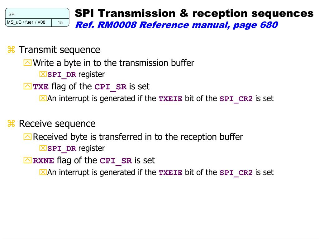PPT - Programming Microcontroller Serial Peripheral Interface (SPI