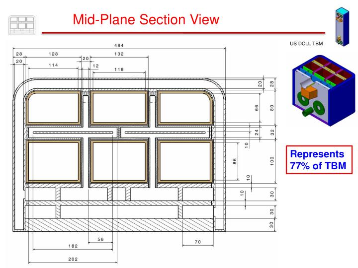Mid-Plane Section View