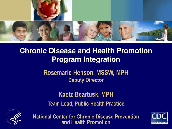 Chronic Disease and Health Promotion