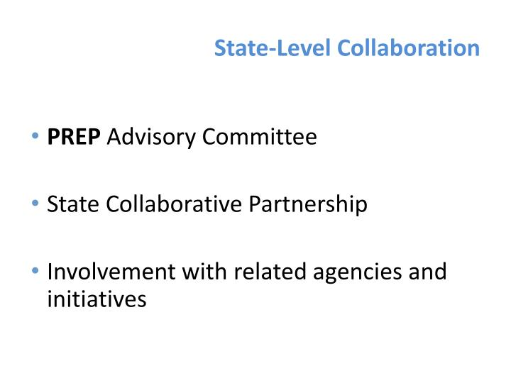 State-Level Collaboration