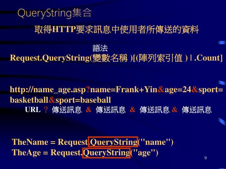 QueryString