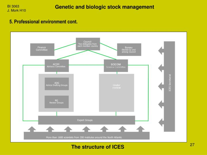 Genetic and biologic stock management