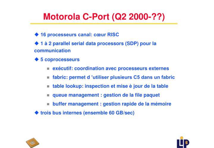 Motorola C-Port (Q2 2000-??)