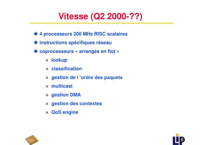 Vitesse (Q2 2000-??)