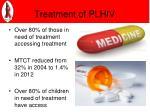 treatment of plhiv