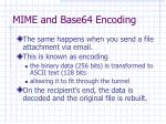 mime and base64 encoding1