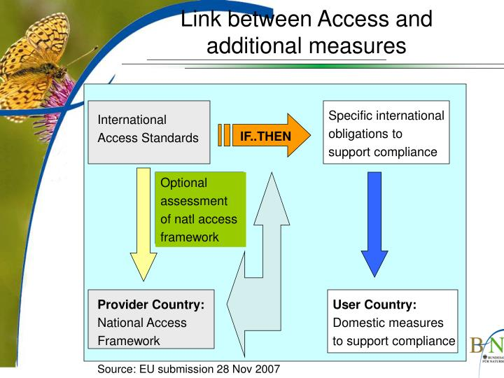 Link between Access and