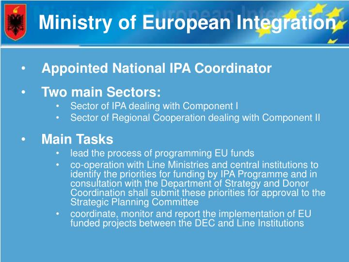 Ministry of European Integration