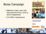 boise campaign