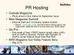 pr hosting