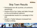 skip town results1