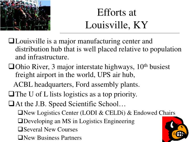 Efforts at louisville ky