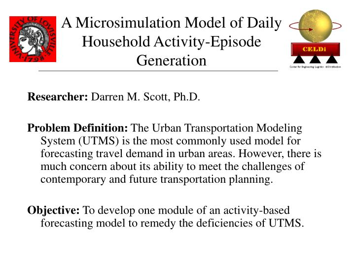 A Microsimulation Model of Daily