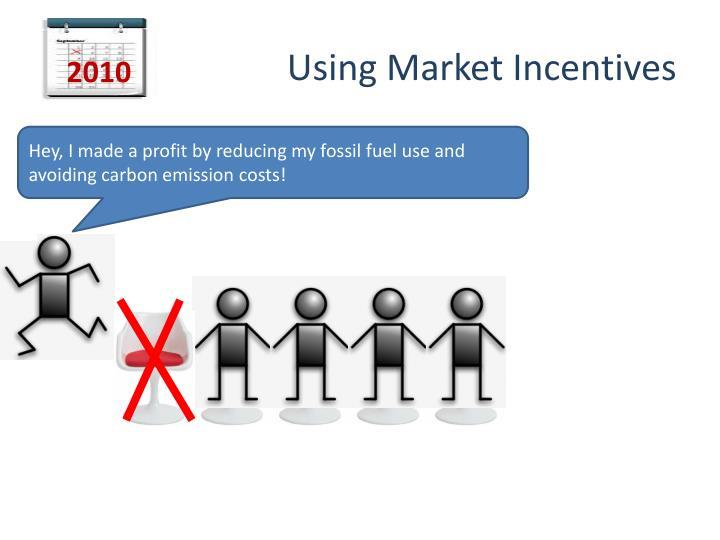 Using Market Incentives