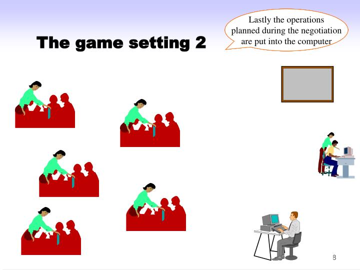 The game setting 2