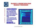 dilogic2 a sparse data scan readout processor