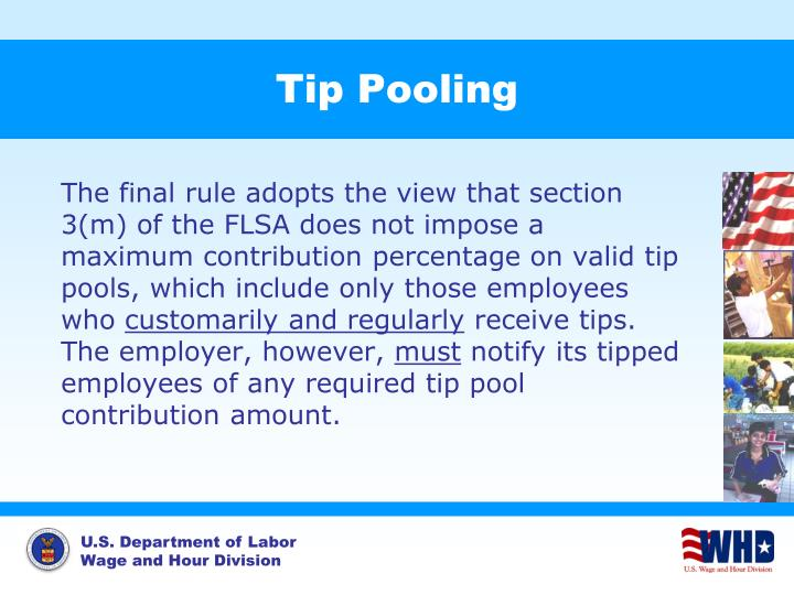 Tip Pooling