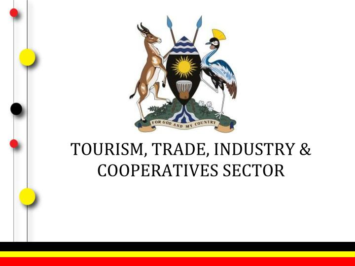 Tourism trade industry cooperatives sector