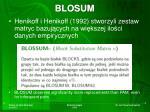 blosum