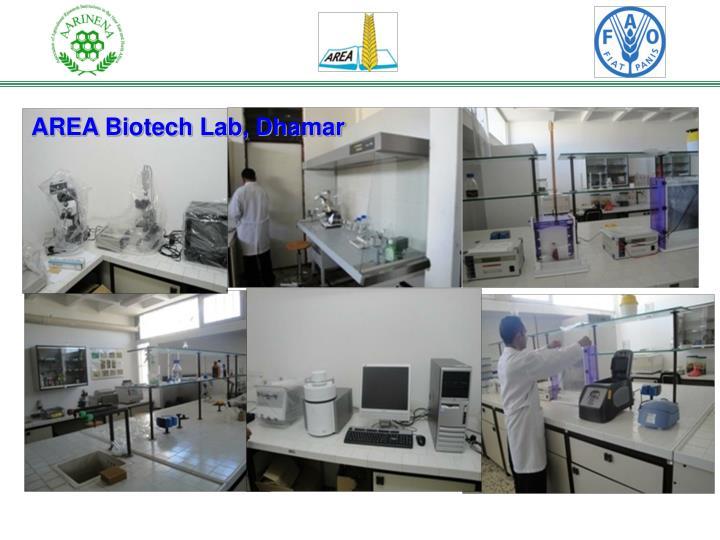 AREA Biotech Lab, Dhamar