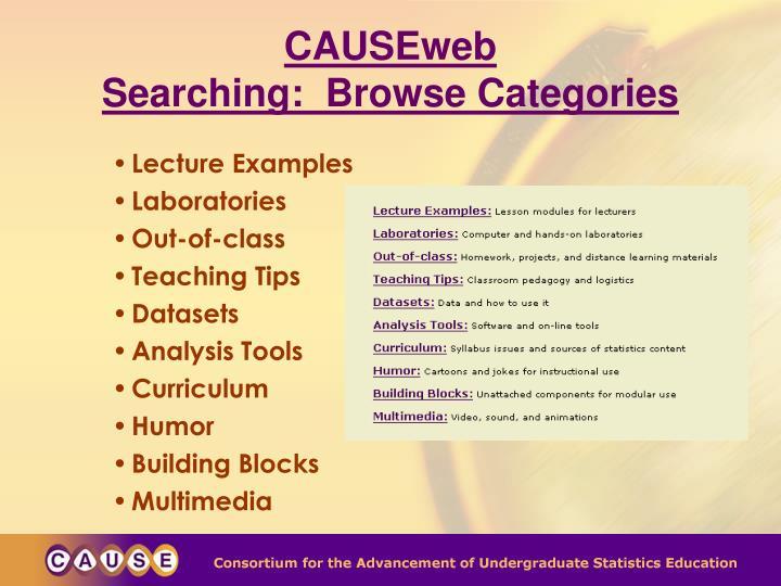 CAUSEweb