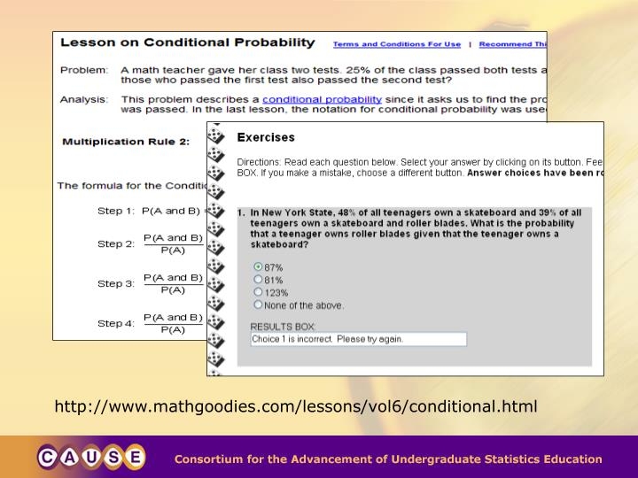 http://www.mathgoodies.com/lessons/vol6/conditional.html