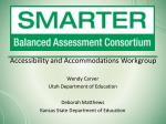 accessibility and accommodations workgroup