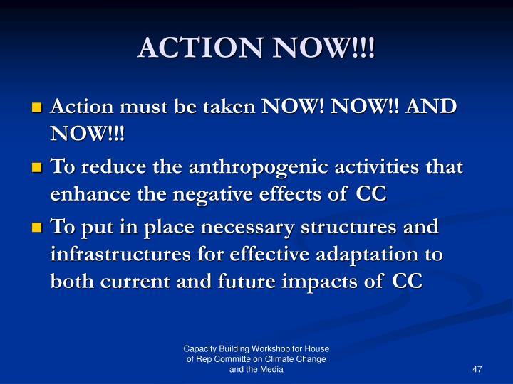 ACTION NOW!!!