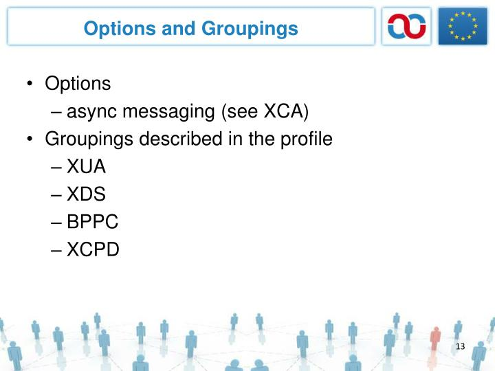 Options and Groupings