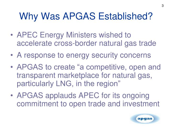 Why was apgas established