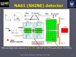 na61 shine detector