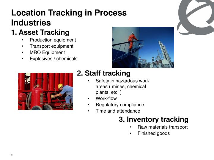 Location Tracking in Process Industries