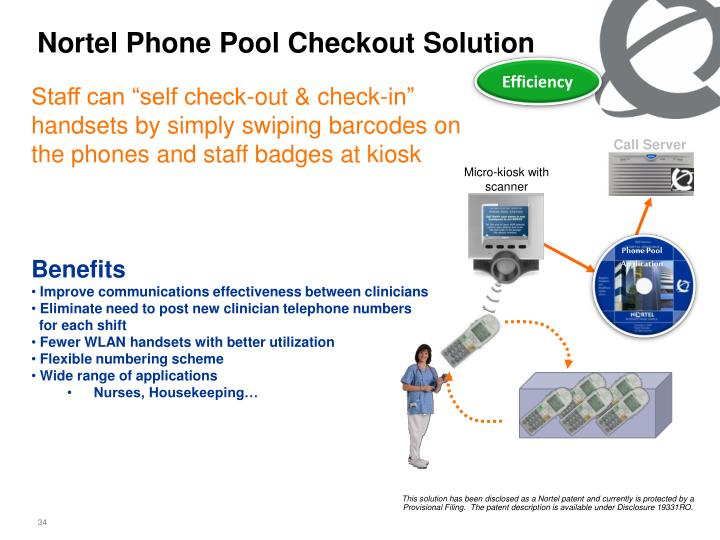 Nortel Phone Pool Checkout Solution