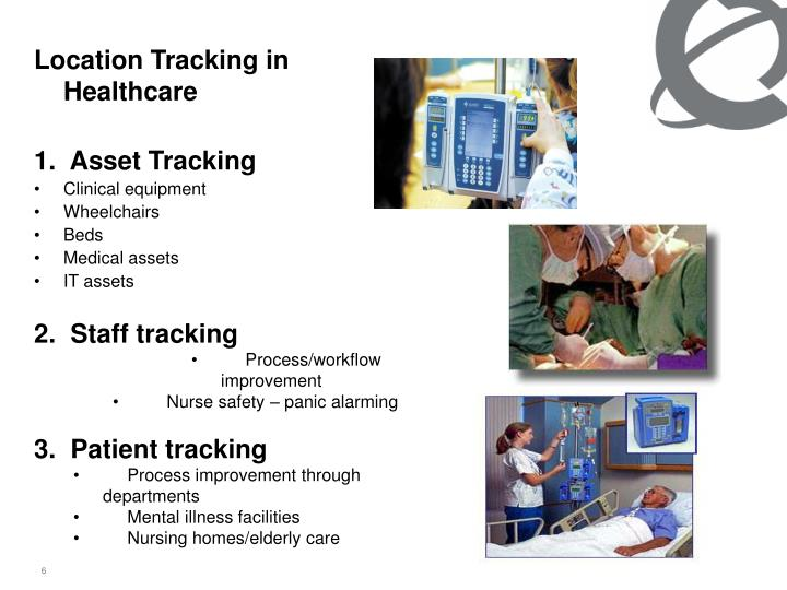 Location Tracking in Healthcare