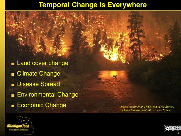 Temporal Change is Everywhere
