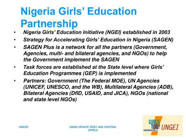 Nigeria girls education partnership