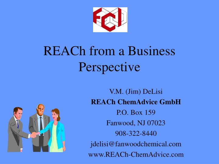 reach from a business perspective n.