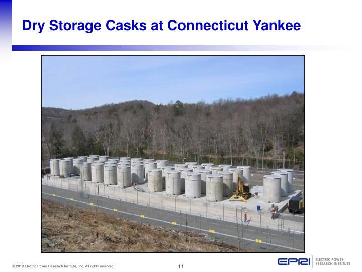 Dry Storage Casks at Connecticut Yankee