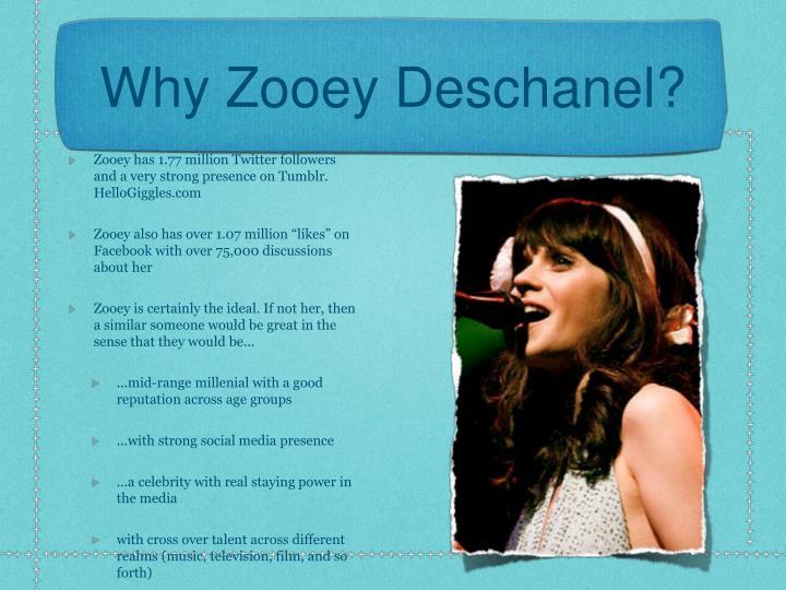 Why Zooey Deschanel?