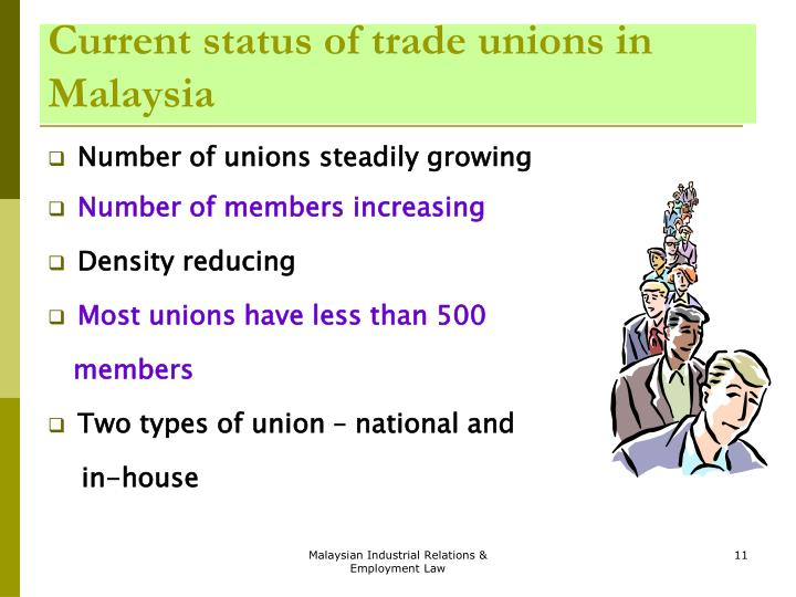 types of trade union in malaysia Malaysia - european union malaysia - european free trade association partnership tariff calculator: glossary: tppa: pocket talks: search search faq: pocket talks: announcement: contact.